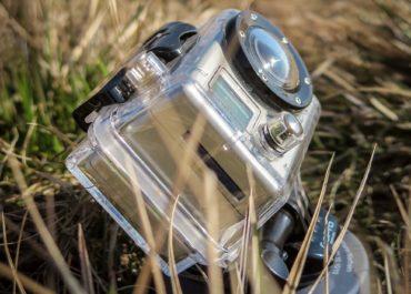Actioncam im Gras